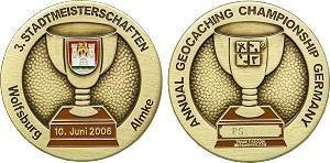 Annual Championship Germany 2006 Geocoin