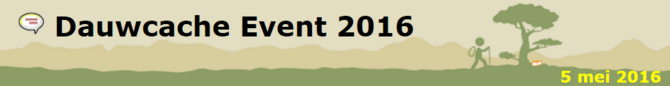 Dauwcache Event 2016