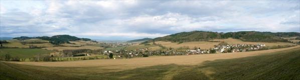 Panorama od keše
