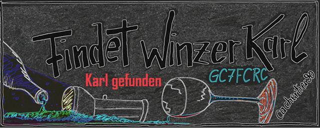 Findet Winzer Karl (GC7FCRC)