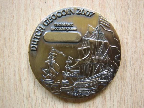 Dutch geocoin 2007 - back