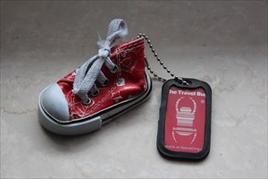Red Running Shoe