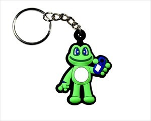 Signal Frog Schlüsselanhänger trackbar