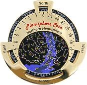 Northern Planisphere Geocoin