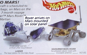 Sojourner Mars ROVER Photo