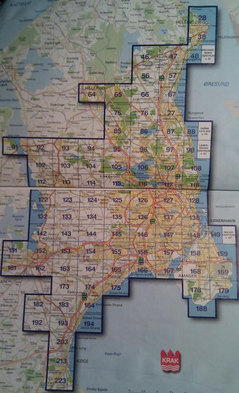 map kraks vejkort