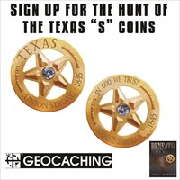 "The Texas ""S"" Geocoin"