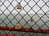 Locks on the Golden Gate Bridge - San Francisco log image