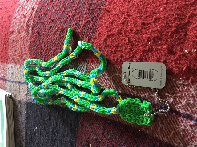 Tb6qepn Travel Bug Dog Tag Jake The Giant Garden Snake