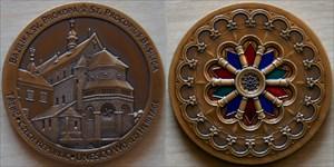 World Heritage: Basilica Trebic Czech Geocoin