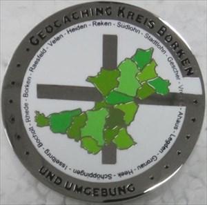 Karte des Kreisgebiets