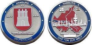 1. Hamburg Geocoin