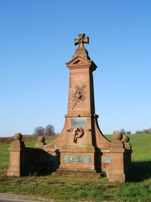 le monuments des Chasseurs de Hesse
