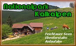 Banner: Nationalpark Kalkalpen