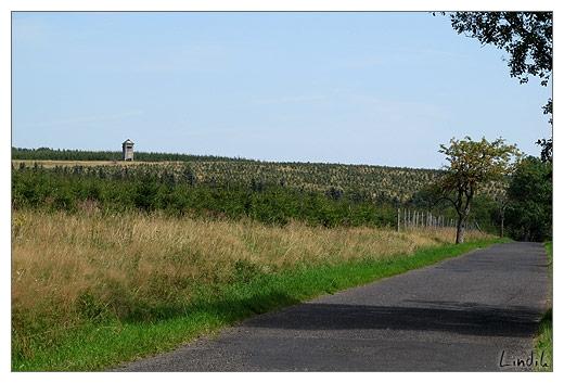 Pohled cestou z Flaji