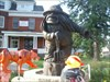What do you think it is? One of the many trolls hanging out in Mount Horeb.