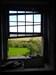 Vista de uma janela do primeiro andar