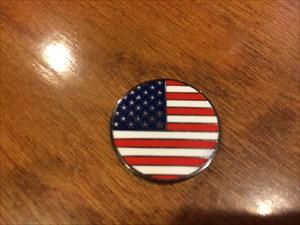 American Flag Coin