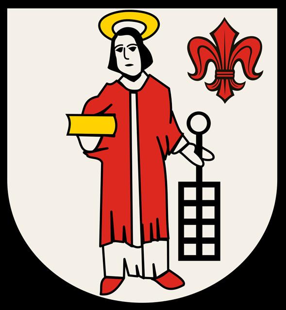 Wappen Gemeinde Grefrath bis 1970