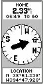 Billede af Kompas-skærm