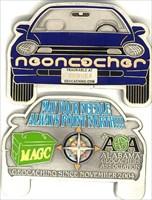 Neoncacher Geocoin