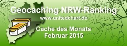 Cache des Monats Februar 2015