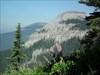 The summit above the Alpine Milk Vetch.