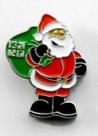 Fassenachterins Santa Claus Geocoin