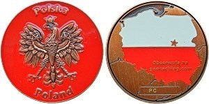 Poland Geocoin