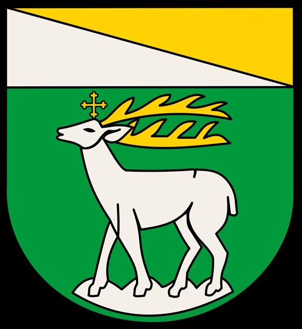 Wappen Gemeinde St. Hubert seit 1913