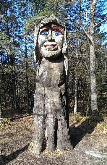 Trollskogen - trollkjerring