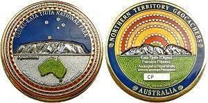 Uluru Geocoin