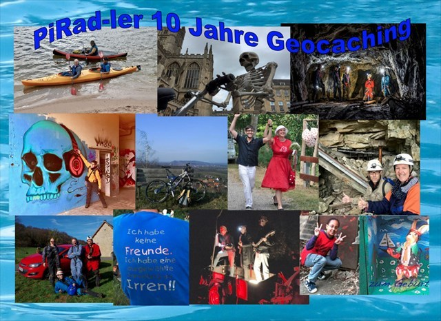 Collage 10 Jahre PiRad-ler