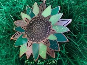 Sonnenblume grün