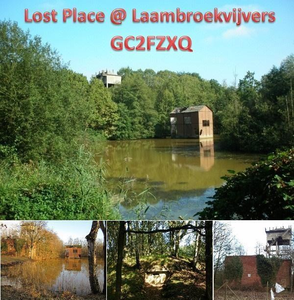 Lost Places Saarland Geocaching: GC2FZXQ Lost Place @ Laambroekvijvers (Traditional Cache