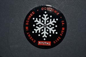 Event im Schnee Geocoin
