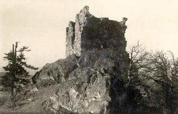 Hrad ze severovýchodu