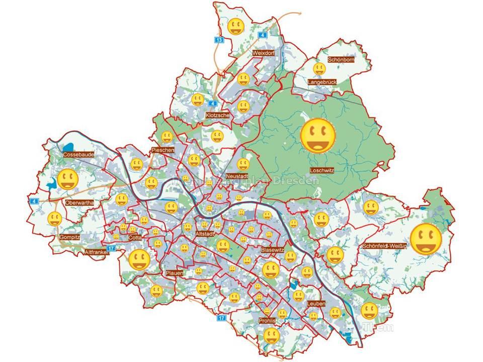 dresden bezirke karte GC3B3HC Der Kaiser von Dresden   Challenge Cache (Unknown Cache