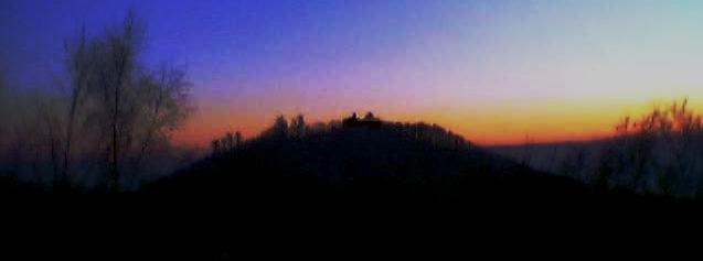 loewenburg at sunset on 14-jan-2006