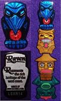West Coast Eco Totem - Raven
