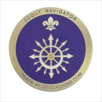 Scouts Navigator Geocoin