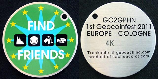 Cachekinz Custom - Geocoinfest Europe 2011