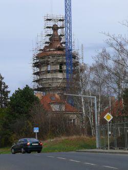 Vež pri rekonstrukci