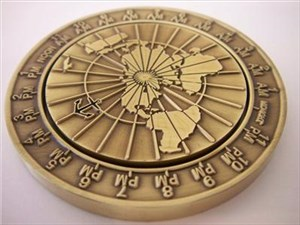 JohnnyM.'s Time Dial Geocoin