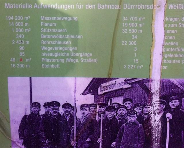 Finde das Bild auf dem Alten Bahndamm und notiere Dir den Wert für C