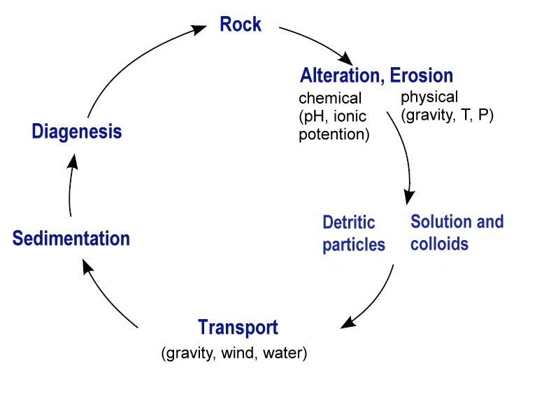 Sedimentary cycle