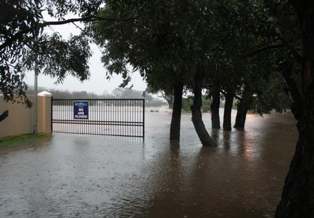 Liesbeek in Flood