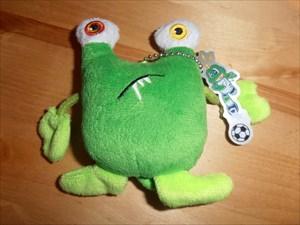 Grønne fodbold monster