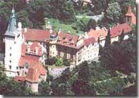 Pruhonický zámek - r.2000