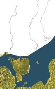 Mälaren ca 12 000 f.kr.